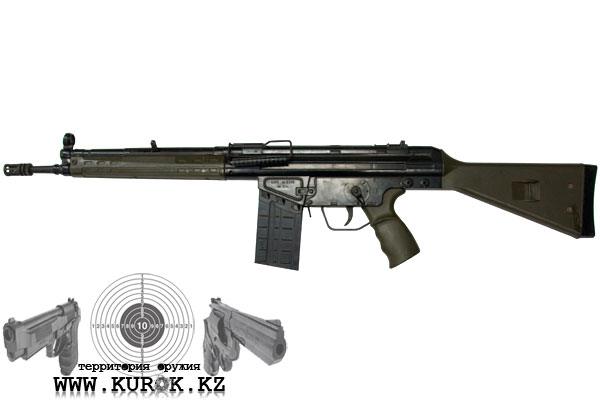 Фото автомата Heckler and Koch G3