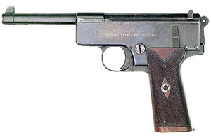 Пистолет Webley Whiting M1904